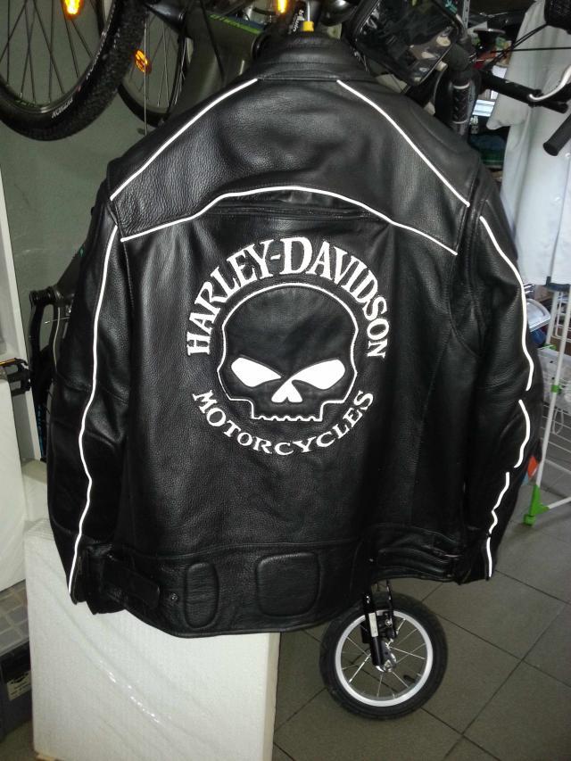 Blouson moto punisher