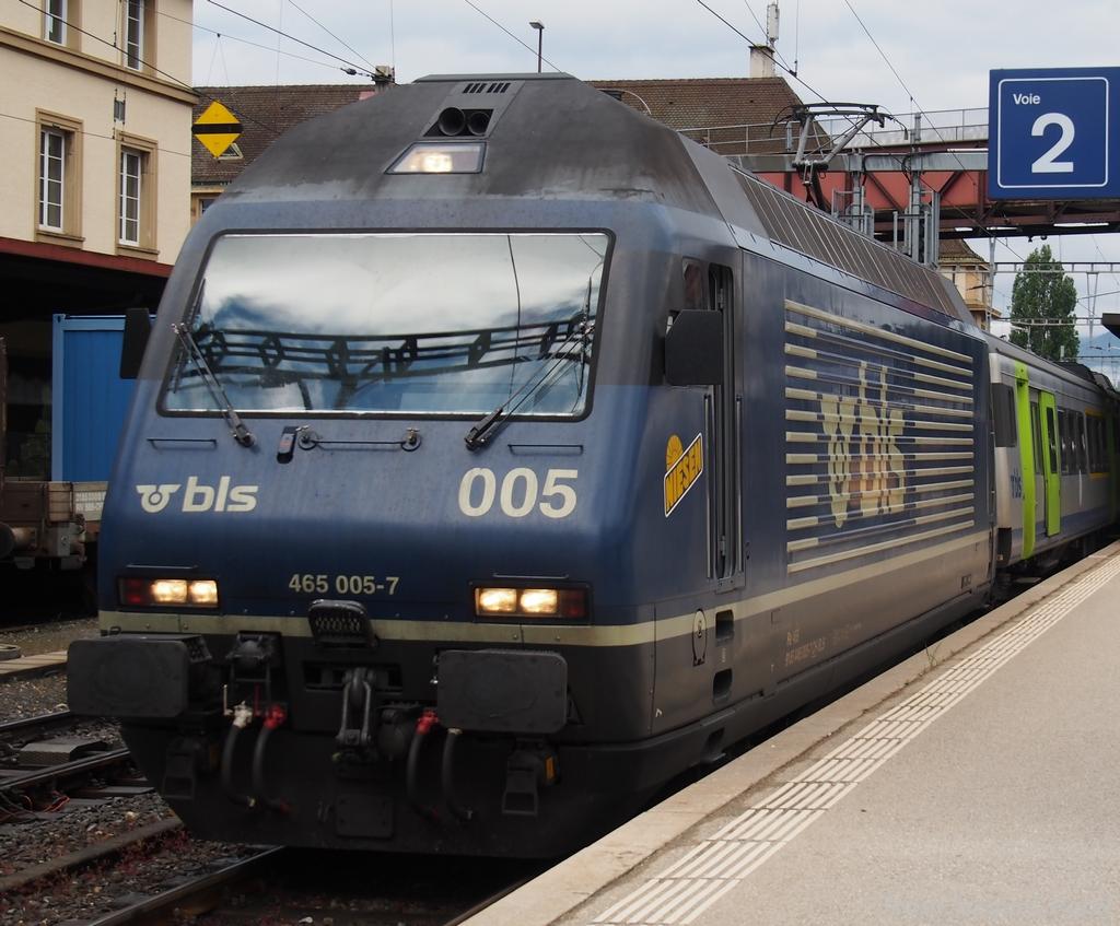 Spot du jour ferroviaire. Nouvelles photos postées le 28 Novembre 2016 Re-465-005-niesen-bls-3ed4044