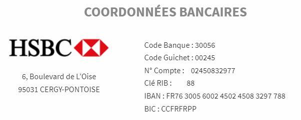 TÉLÉCHARGER RIB HSBC