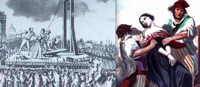 """Résultat de recherche d'images pour """"femme à la guillotine"""""""