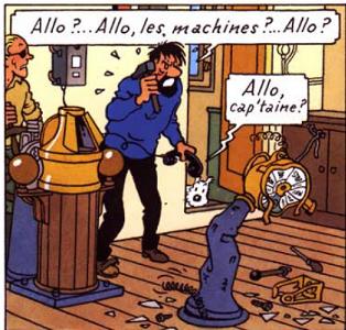 Les Aventures de Tintin :: Quels passages, images ou