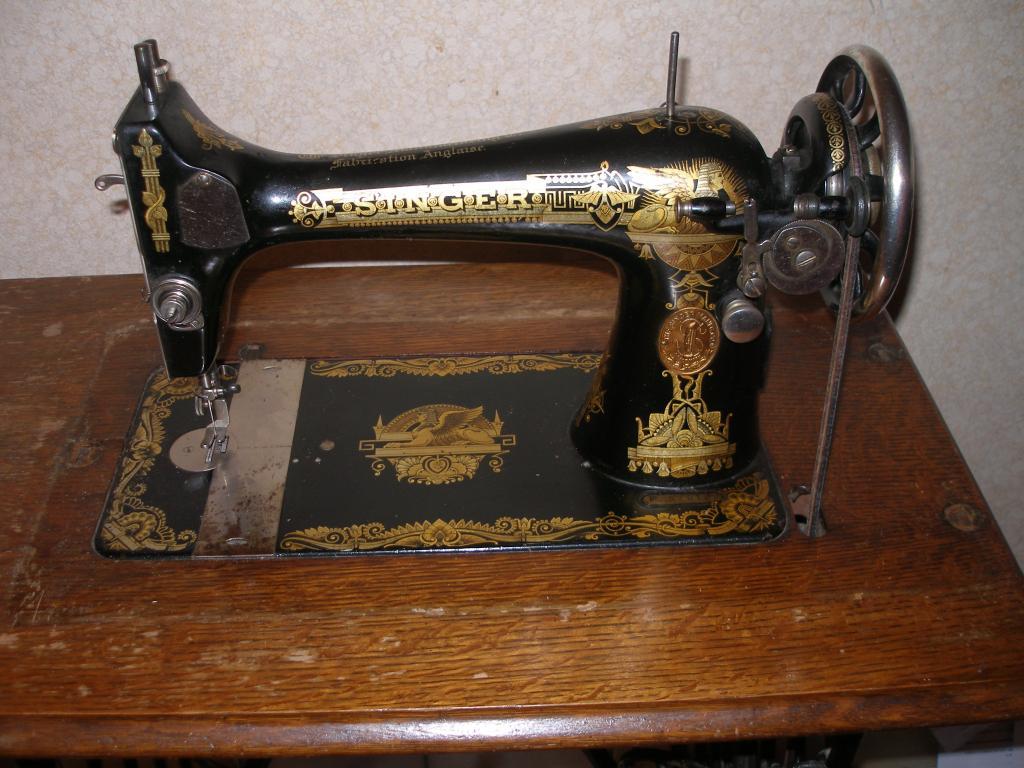 Machine A Coudre Ancienne les fées tisseuses :: ancienne singer années 1910 à navette